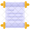 Paper Scroll Icon