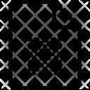 Paper sheet  Icon