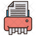 Shredder Document Paper Icon