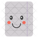 Paper Smiley Icon