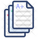 Text Paper Paper Stack File Icon