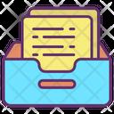 Paper Storage Icon
