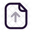 Paper Upload Icon