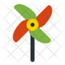Paper Windmill Icon