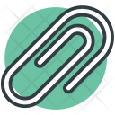 Paperclip Attachment Binder Icon