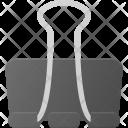 Paper Clip Attache Icon