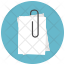 Paperclip Paper Icon