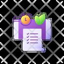 Paperless Statements Online Icon