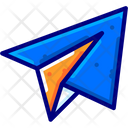 Paper Airplane Plane Message Icon