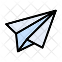 Paperplane Toy Kids Icon