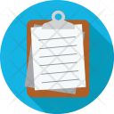 Papers Documents Clipboard Icon