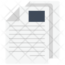 Papers Business Paperwork Icon