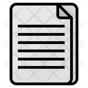 Papers Document Sheet Icon