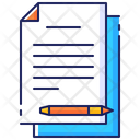 Business Paperwork Document Icon