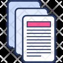 Doc Documents Paperwork Icon