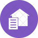 Paperwork Document Home Icon