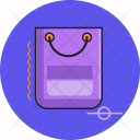 Papper Bag Save Icon
