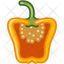 Paprika Vegetable Pepper Icon