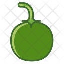 Paprika Pepper Vegetable Icon