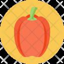 Paprika Capsicum Crunchy Icon