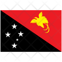 Flag Country Papua New Guinea Icon