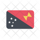 Papua New Guinea Flag Country Icon