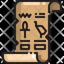 Papyrus Papyrus Ancient Icon