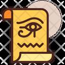 Papyrus Parchment Brown Icon