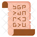 Papyrus Scroll Icon