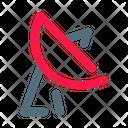 Parabola Signal Satellite Icon