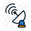 Parabolic Antenna Radar Range Icon