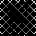 Parabolic Satellites Antenna Icon
