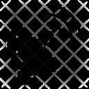 Parabolic Satellite Space Station Dish Antenna Icon