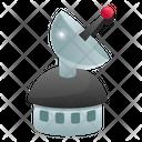 Parabolic Station Space Station Satellite Station Icon