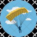 Parachute Sports Game Icon