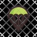 Parachute Army Parachute Extreme Sports Icon