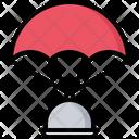 Parachute Cloche Food Icon