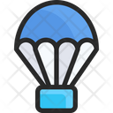 Parachute Emergency Parachute Emergency Delivery Icon