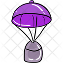 Parachute Air Delivery Space Supply Delivery Icon