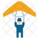 Fly Army Paraglide Icon