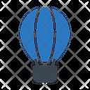 Parachute Airballoon Fly Icon
