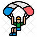 Parachute Parachutist Paraglider Icon