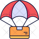 Parachute Parachuted Parachutes Icon