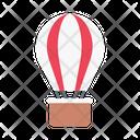 Parachute Tour Travel Icon