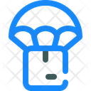 Delivery Parachute Package Icon