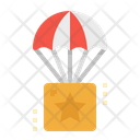 Parachute Boxes Package Icon