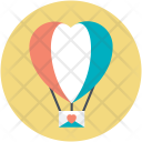 Parachute Fly Date Icon
