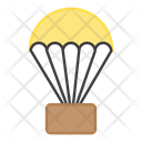 Paragliding Parachute Skydiving Icon