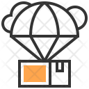 Parachute Packing Service Icon
