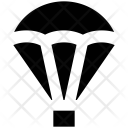 Parachute Paratrooper Skydiving Icon